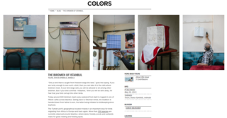 COLORS Magazine, Blog Feature with For Birds Sake, May 2015
