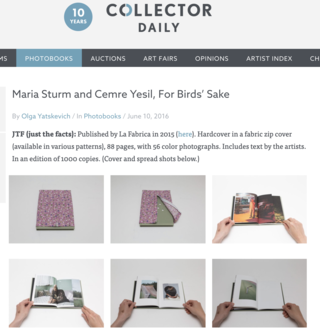 For Birds' Sake Review by Collector Daily