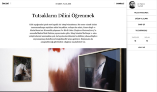 For Birds' Sake Book and Exhibition Review by Ali Taptık @Artfulliving